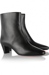 CHRISTIAN LOUBOUTIN Nitapal 45 leather ankle boots