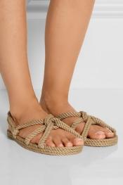 TOTÊME Sandales en corde par Gurkees Biot