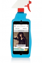 MOSCHINO Coque pour iPhone 6 Cleaning Spray