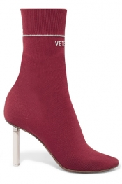 VETEMENTS Bottines en jersey Sock