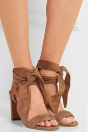JIMMY CHOO Kora suede sandals