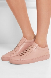 COMMON PROJECTS Baskets en cuir Original Achilles