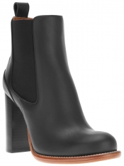 CHLOÉ high heel chelsea boot