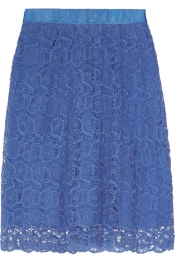 COLLETTE BY COLLETTE DINNIGAN Portobello cotton-lace skirt