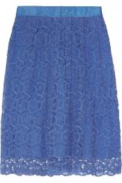 COLLETTE BY COLLETTE DINNIGAN Portobello cotton-lace skirt