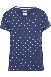 EACH X OTHER Polka-dot print cotton-jersey T-shirt