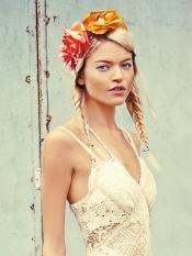 Floral Braided Headdress
