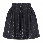 Full lace mini skirt