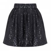 Full lace mini skirt