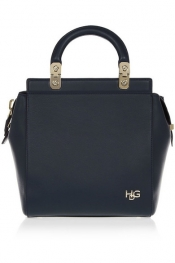 GIVENCHY Small House de Givenchy bag in navy leather