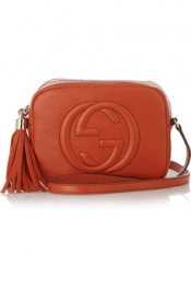 GUCCI Soho Camera textured-leather shoulder bag
