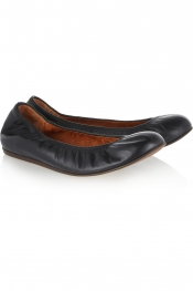 LANVIN Leather ballet flats
