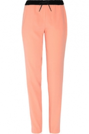 MAJE Almira crepe tapered pants