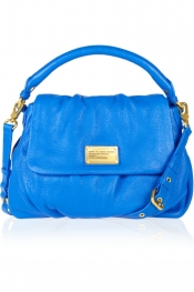 MARC BY MARC JACOBS Lil Ukita textured-leather shoulder bag