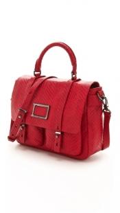 Werdie Snake Top Handle Messenger Bag Marc Jacobs