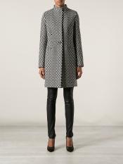 Max Mara Monochrome Overcoat