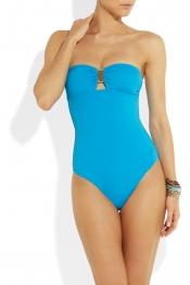 MELISSA ODABASH St Tropez bandeau swimsuit