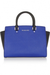 MICHAEL MICHAEL KORS Selma textured-leather tote