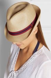 MELISSA ODABASH Woven Panama hat