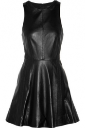 RAG & BONE Renard leather dress