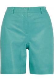 RICHARD NICOLL Nappa leather shorts