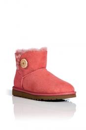 UGG Australia Rose Clay Bailey Mini Boots