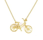 Bicycle Vintage Necklace