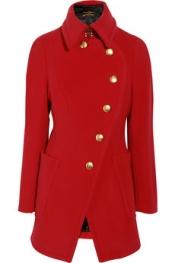 VIVIENNE WESTWOOD ANGLOMANIA Rac wool-blend coat