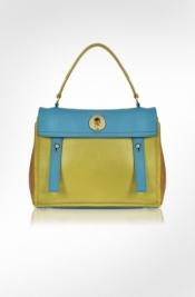 Yves Saint Laurent multicolor leather bag